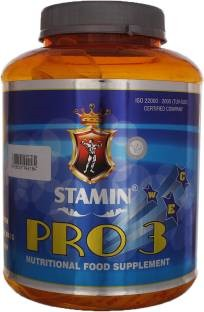 Stamin Nutrition Pro 3 Jar (2Kg / 4.41lbs, Strawberry)
