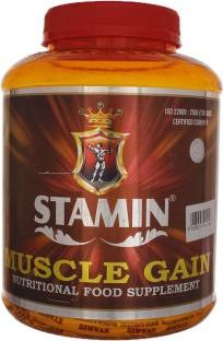 Stamin Nutrition Muscle Gain (2Kg / 4.41lbs, Strawberry)
