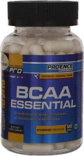 Proence Nutrition BCAA Essential Supplements (120 Capsules)