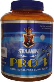 Stamin Nutrition Pro 3 Jar (2Kg, Chocolate)