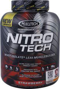 Muscletech Muscletech Performance Series Nitrotech Whey Protein (1.8Kg, Strawberry)