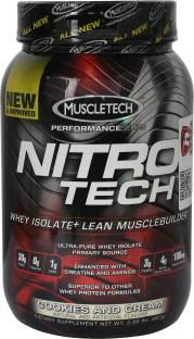 Muscletech Nitrotech Performance Series Protein (2lbs, Cookies and Cream)