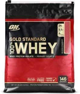 Optimum Nutrition 100% Whey Gold Standard (4.53Kg / 9.99lbs, Strawberry)