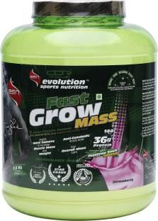 ESN Fast Grow Mass Gainer (2.5Kg, Strawberry)