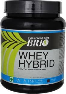 Brio Whey Hybrid (500gm, Chocolate)