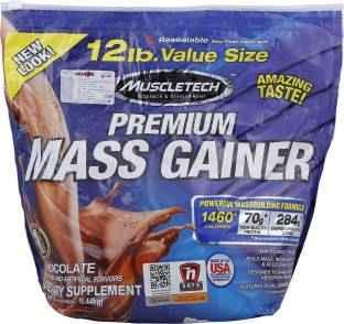 MuscleTech Premium Mass Gainer (5.44Kg, Chocolate)