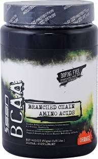 SSN BCAA Powder (250gm, Orange)