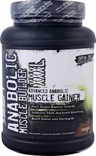 SSN Anabolic Muscle Builder XXXL Mass Gainer (997gm, Chocolate)