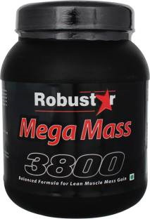 Robustar Mega Mass 3800 Weight Gainer (1Kg)