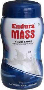Endura Mass Weight Gainer (500gm, Vanilla)