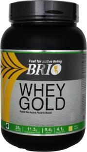 Brio Whey Gold Protein (1Kg, Vanilla)