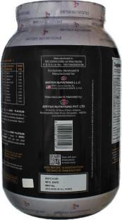 British Nutritions Whey Platinum Standard (1Kg, Chocolate)