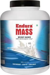 Endura Mass Weight Gainer (3Kg, Vanilla)