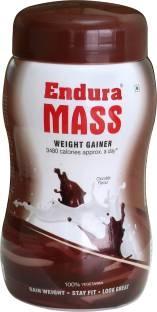 Endura Mass Weight Gainer (1Kg, Chocolate)