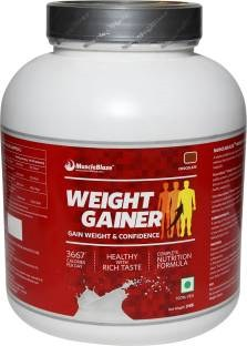 MuscleBlaze Weight Gainer (3Kg / 6.61lbs, Chocolate)