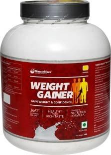 MuscleBlaze Weight Gainer (3Kg / 6.61lbs, Banana)