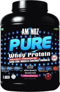 Aminoz Pure Whey Protein (2Kg / 4.41lbs, Strawberry)