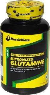MuscleBlaze Micronized Glutamine (0.22lbs, Unflavoured)