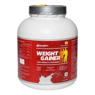 MuscleBlaze Weight Gainer (3Kg / 6.61lbs, Kesar Badam Pista)