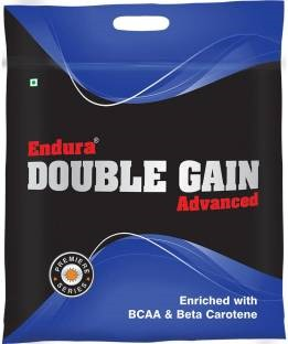 Endura Double Gain Advanced Mass Gainer (3Kg, Chocolate)