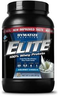 Dymatize Nutrition Elite Whey Protein (908gm, Vanilla)