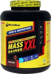 MuscleBlaze Mass Gainer XXL (3Kg, Chocolate)
