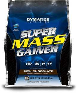 Dymatize Nutrition Super Mass Gainer (5.44Kg / 11.99lbs, Chocolate)