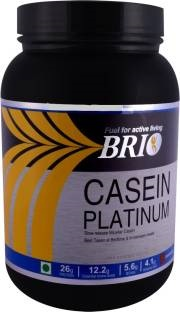 Brio Casein Platinum Casein Protein (1Kg, Cookies And Cream)