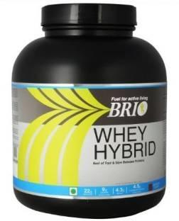 Brio Whey Hybrid (2Kg / 4.41lbs, Strawberry)