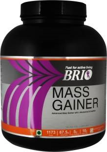 Brio Mass Gainer (3Kg, Banana)