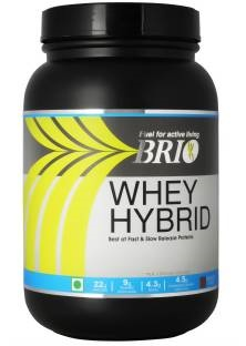 Brio Whey Hybrid (500gm / 1.1lbs, Strawberry)