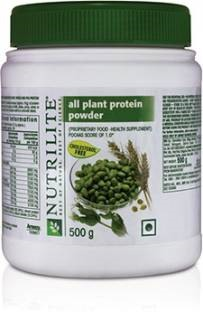 Amway Nutrilite All Plant Protein (500gm, Unflavoured)