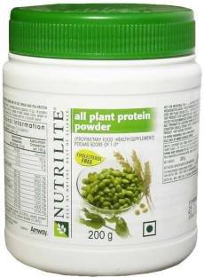 Amway Nutrilite all plant protein powder Plant (200gm / 0.44lbs, Unflavoured)