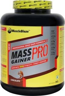 MuscleBlaze Mass Gainer Pro (3Kg, Chocolate)