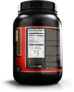 Optimum Nutrition 100% Whey Gold Standard (908gm / 2lbs, Chocolate)