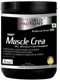 WOP Crea Protein Supplement (300gm, Lemon)