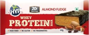 HYP Whey Protein Bar (60gm, Almond Fudge)