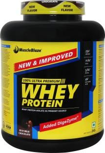 MuscleBlaze Whey Protein (2Kg, Rich Milk Chocolate)