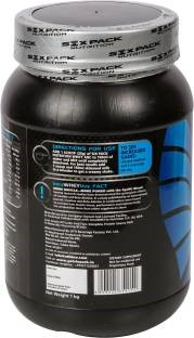 Six Pack Nutrition Whey ABC Proteins (1Kg, Chocolate)
