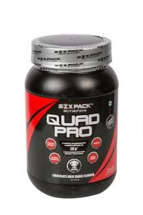 Six Pack Nutrition QUAD Protein (1Kg, Chocolate)