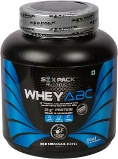 Six Pack Nutrition Whey ABC Proteins (2Kg, Chocolate)