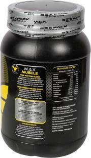 Six Pack Nutrition Max Muscle Protein Supplement (1Kg / 2.2lbs, Banana)