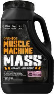 Grenade Muscle Machine Mass (2.26Kg, Strawberry)