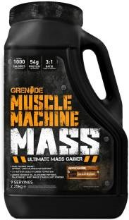 Grenade Muscle Machine Mass Gainer (2.26Kg, Chocolate)