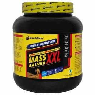 MuscleBlaze Mass Gainer XXL (1Kg, Cafe Mocha)