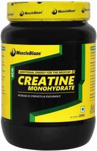 MuscleBlaze Creatine Monohydrate Powder (250gm, Unflavoured)