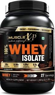 MuscleXP 100% Whey Isolate (1Kg / 2.2lbs, Chocolate)