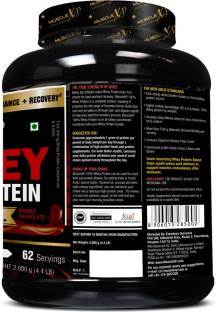 MuscleXP 100% Whey Protein (2Kg / 4.41lbs, Chocolate)