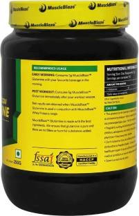 MuscleBlaze Micronized Glutamine Powder (0.56lbs, Unflavoured)