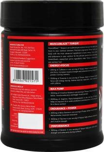 MuscleBlaze Torque Pre-Workout (1.1lbs, Orange)